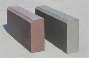 Камень бордюрный садовый БР 50.21.7 серый
