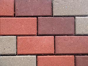 Тротуарная плитка вибропрессованная *Кирпич* 60 мм серая