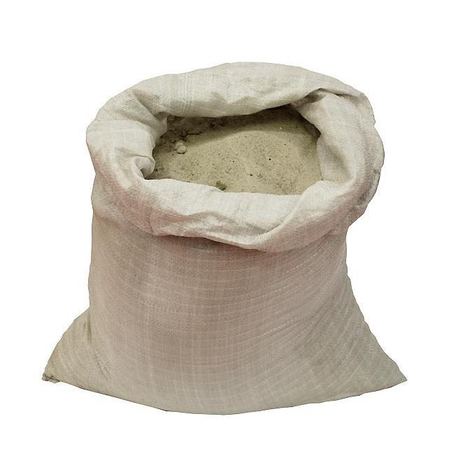Песок мытый крупнозернистый (мешок 25 кг)