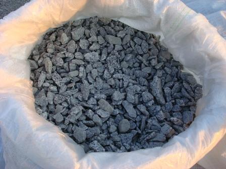 Щебень гранитный фракции 5-20 (мешок 25 кг)