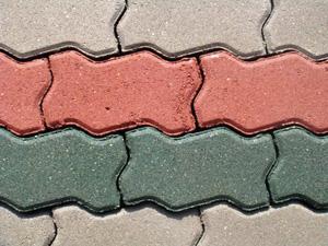 Тротуарная плитка вибропрессованная *Волна* 60 мм серая