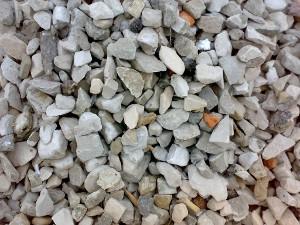 Щебень вторичный бетонный